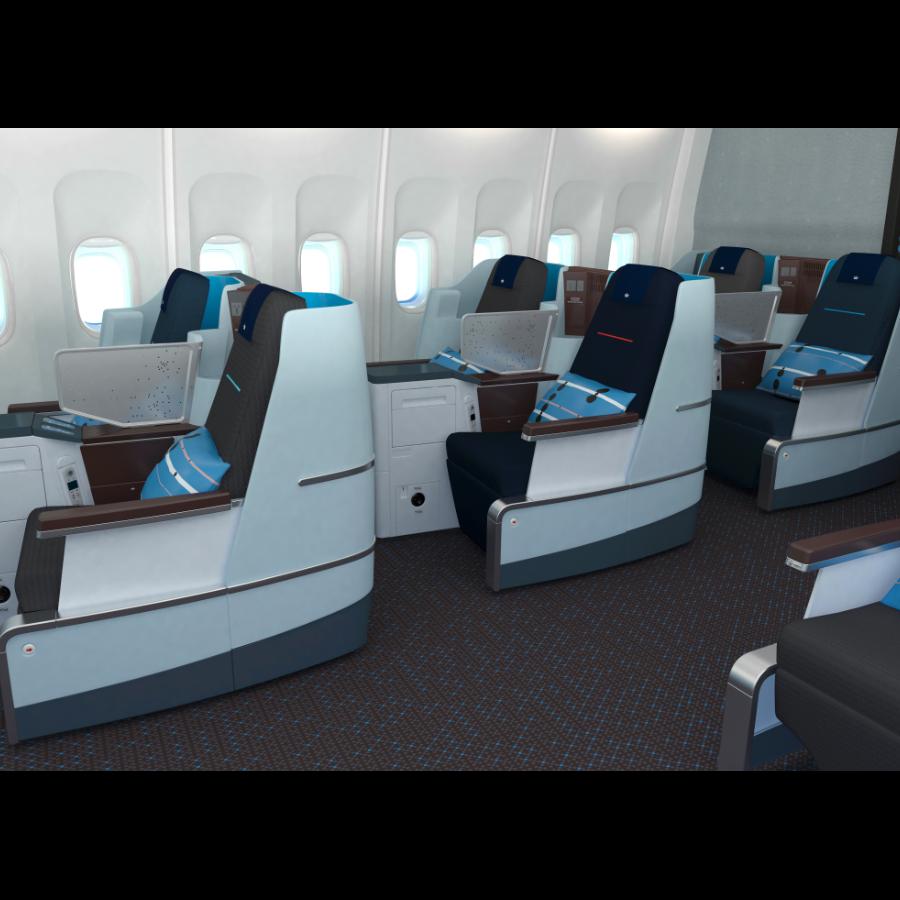 Klm World Business Class Desso Aviation